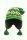 Grobstrickmütze mit Schirm Brooklyn Grün