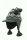 Grobstrickmütze mit Schirm Brooklyn Anthrazit