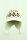 Grobstrickmütze mit Schirm Brooklyn Weiß