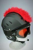 Irokesenkfell für Ski / Snowboard / Fahrrad - Helmaccessoires