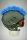 Irokesenkfell für Ski / Snowboard / Fahrrad - Helmaccessoires Blau