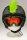 Irokesenkfell für Ski / Snowboard / Fahrrad - Helmaccessoires Grün