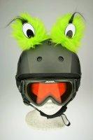 Monster-Augen Helmaccessoires Grün
