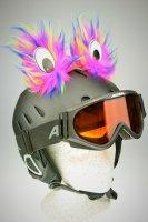 Monster-Augen Helmaccessoires Pink