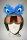 Monster-Augen Helmaccessoires Blau