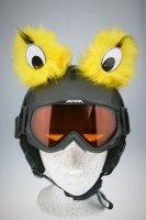 Monster-Augen Helmaccessoires Gelb