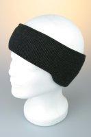 Stirnband (Ohren) mit Baumwollfutter, unisex, Made in Germany Anthrazit