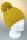 Strickpudelmütze, Aplakamix mit Baumwollfleece, Made in Germany Gelb