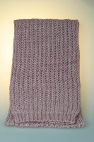 Strickschal, Patent, Made in Germany Rose