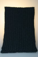 """Strickschal """"Lucca"""", 80 % Wolle, Made in Germany Marine"""