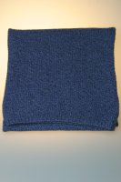 """Strickschal """"Lucca"""", 80 % Wolle, Made in Germany Jeansblau"""