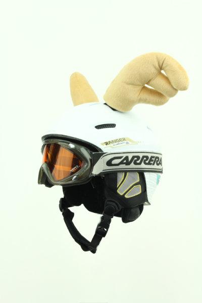 Elchörner für Ski / Snowboard - Helm