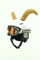 Bullenhörner für Ski - Snowboard - Helm