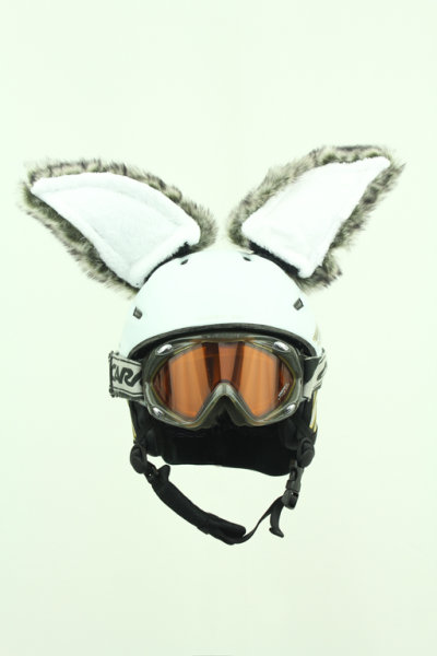 Hasenohren für Ski / Snowboard - Helm