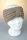Stirnband mit Riegel und Falz Braun