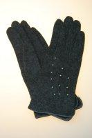 Damenhandschuh in verschiedenen Farben mit Glitzerperlen