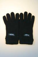 Damen-Strickhandschuh, 100% Wolle mit Thinsulatefutter, Schwarz Damen Strick 7