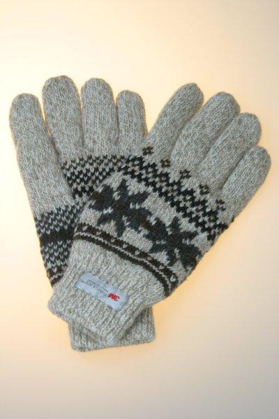 Stickhandschuhe Norweger, Thinsulate, in verschiedenen Farben
