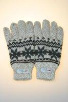 Stickhandschuhe Norweger, Thinsulate, beige