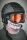 Rundschalmaske mit 3D Druck Joker, gefüttert mit Fleece