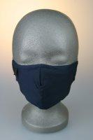 Mund- und Nasenmaske, dunkelblau