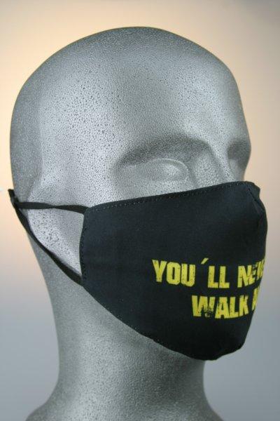 Mund- und Nasenmaske, Fan Never walk alone