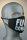 Mund- und Nasenmaske, F*ck Corona Schriftzug