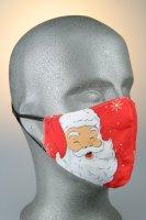 Mund- und Nasenmaske, Weihnachtsmann Hohoho