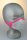 Kindermaske, 3-6 J., grau mit pinken Anker