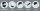 Multifunktionstuch mit Thermofleece, Blumen schwarz-weiß