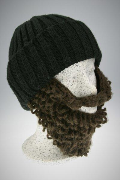 schwarze Mütze-brauner Bart Holzfällerstyle (länger)