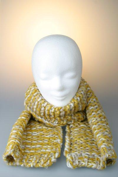 Gelb-Weiß-Beige